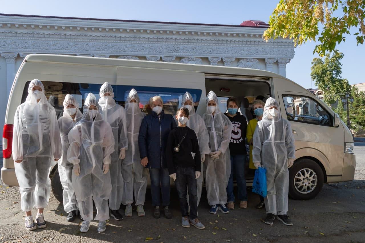 Тепло и забота, с доставкой на дом – Самаркандский Областной Немецкий Культурный центр